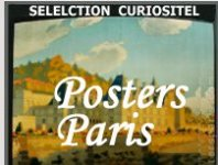 paris posters, affiches anciens, antique posters, posters anciens, Paris, Saint Ouen, Ile de france