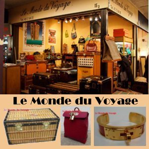 Le Monde du Voyage, Specialist of antique luggages Vuitton, Hermès, Chanet, Goard