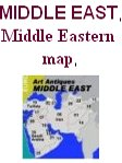 Middle East map, Middle Eastern art antiques map, Middle Eastern art and antiques map, Middle Eastern countries art and antiques map, maps